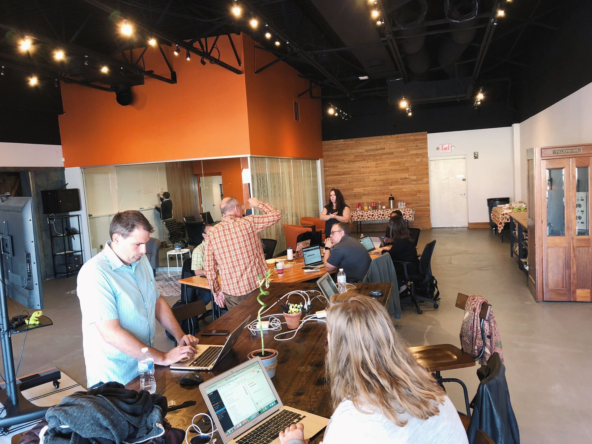 The Reclaim Hosting team at work